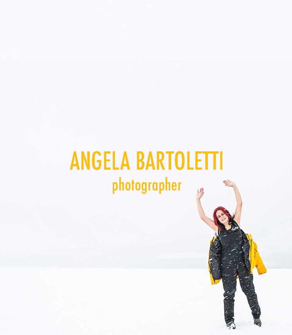 Angela Bartoletti in Antartide