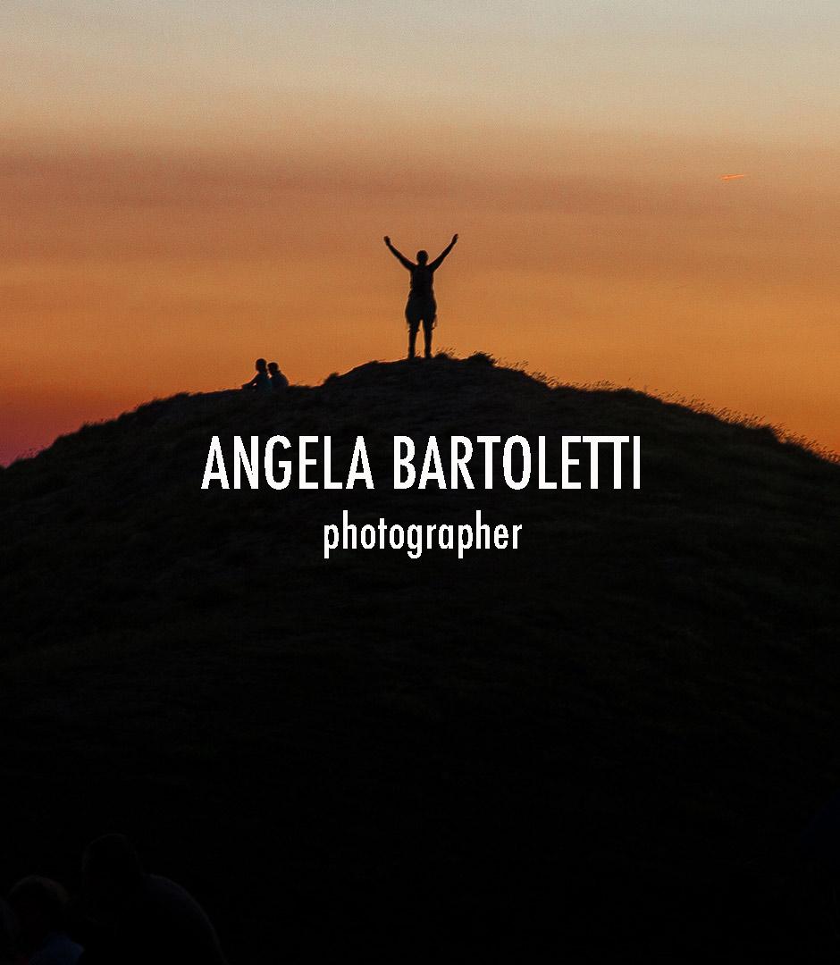 tramonto in montagna foto di angela bartoletti