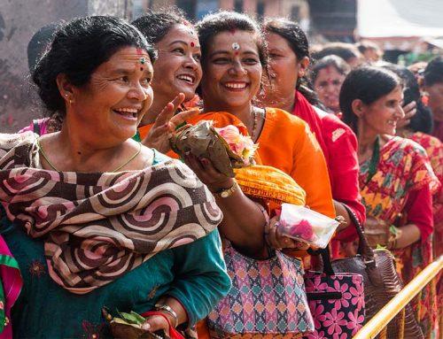 Sawan Somwar, Donne Nepalesi in festa!