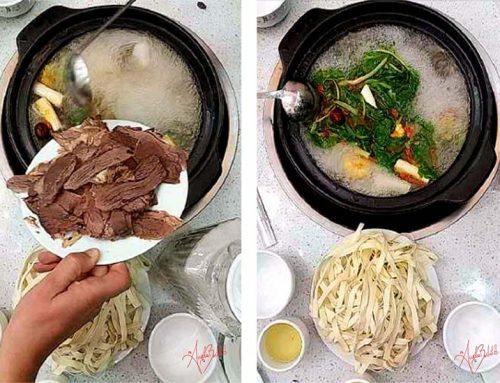 A Songpan si mangia così!